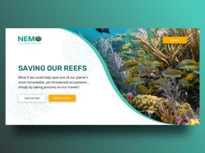Nemo Landing Page