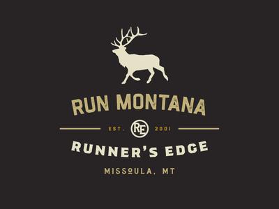 Run Montana Badge