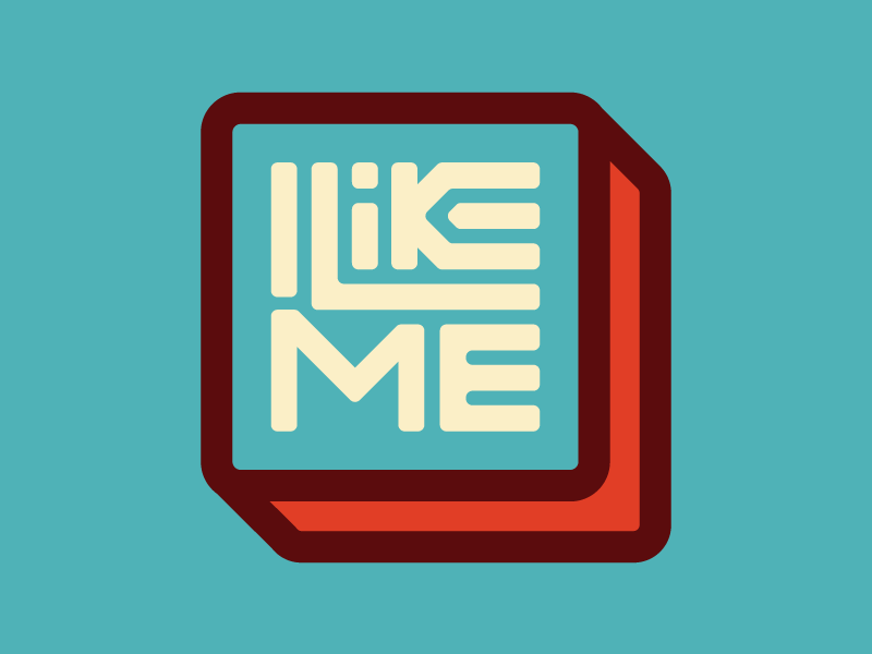 I Like Me series icon type series icon