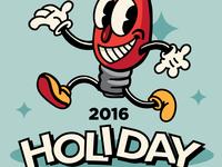 Holiday Lights Run 2016 Poster