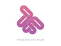 Track + Field logo 2nd Option