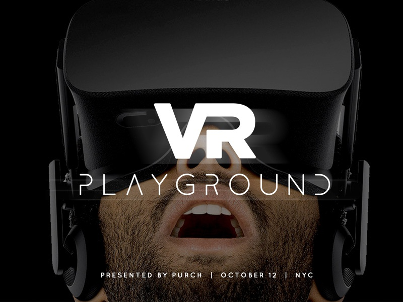 VR Playground Promo icon symbol seal emblem logo type typography graphic design
