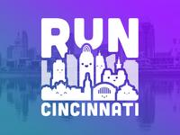 Run Cincinnati Tee Concept