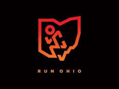 Run Ohio - Tee Concept