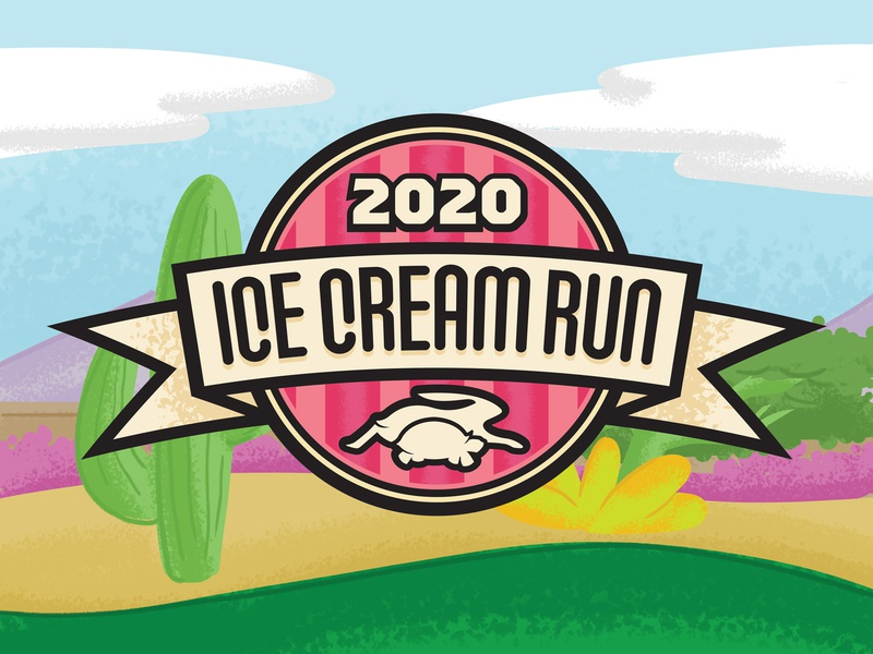 2020 Ice Cream Run Badge