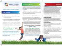 Jump 4 Job brochure back side