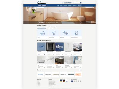 Middletons cart design ui ux graphic design