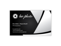 BW business card