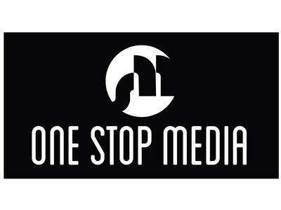 One Stop Media print media typography branding vector logo graphic design
