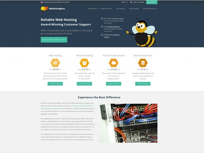 Webhosting Buzz bootstrap jquery css3 html5 icon branding vector graphic design