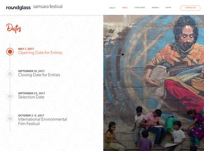 Samsara Festival graphic design