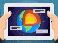 Illustration for Xplorar App