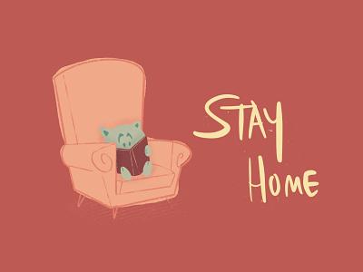 stay home procreate art illustrator procreate app procreate illustration design