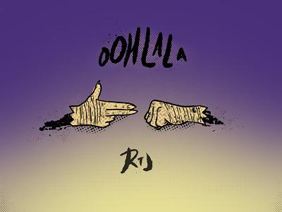 Run The Jewels: Ooh La La music hip hop procreate app procreate illustration illustrator run the jewels