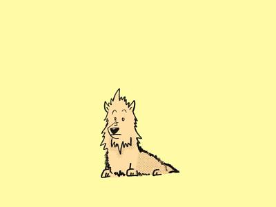 Australian Terrier day 2 procreate app terrier australian terrier dog illustration dog dogs the 100 day project 100daychallenge 100 day project procreate illustration design