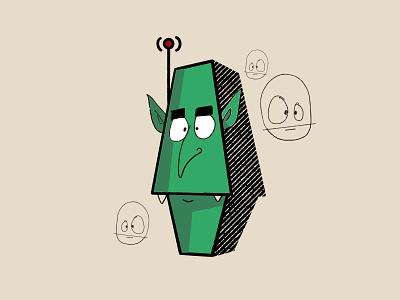 goblinbot 6000 procreateapp procreate art procreate illustrator goblin illustration design