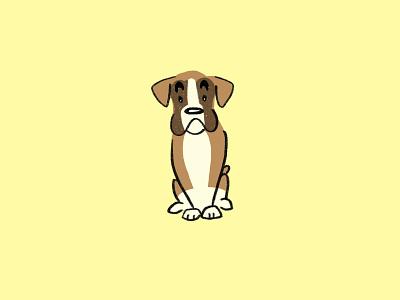 100 Days of Dog Breeds // Day 007 - Day 013 procreate app procreate harrier hound harrier hound setter english setter pomeranian lagotto romagnolo pembroke welsh corgi corgi bluetick coonhound bluetick coonhound boxer dog illustration dogs the 100 day project illustration