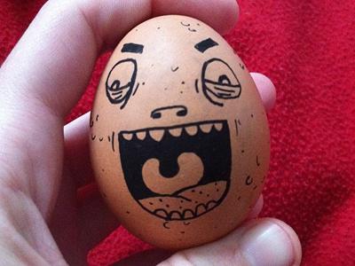 Happy Easter !! happy easter egg posca samnuts