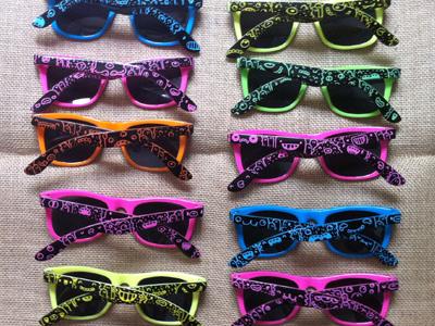 Glasses sun glasses custom posca doodle monster samnuts
