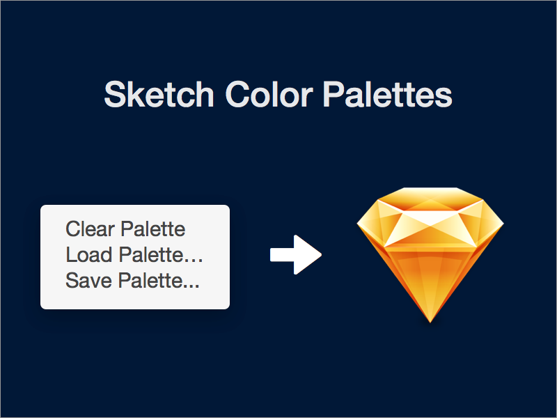 Sketchpalettes