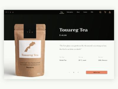 Product Page - Tea Shop