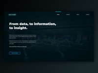 Data Company Website