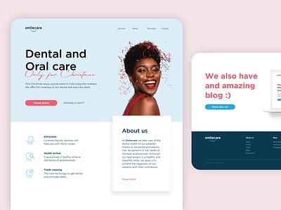 Landing Page minimal design dailyui uxui