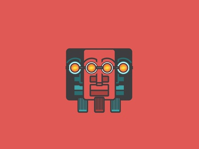 Vision Dude illustration vector faces