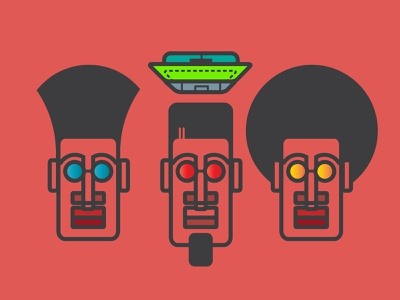 AfroHeads vector illustration vectors african afro