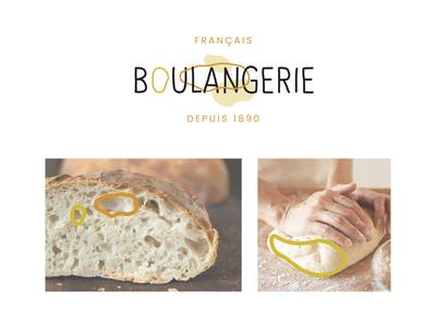 logo french bakery