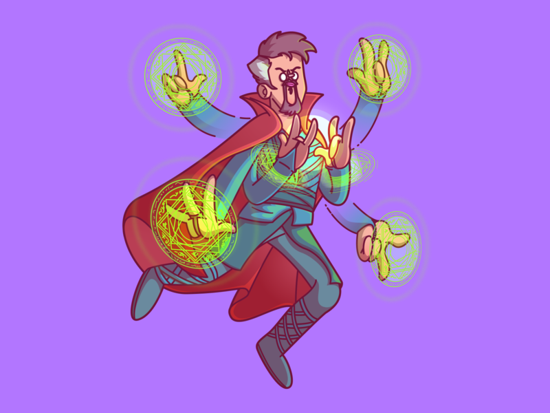 """We're in the endgame now"" cool dribbble vector color fun character illustration brazil sao paulo thunder rockets"
