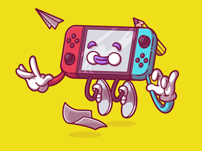 Gamification ui  ux vector color flat fun character illustration brazil sao paulo thunder rockets