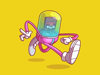 Data protection ux vector ui logo design color fun character illustration brazil sao paulo thunder rockets