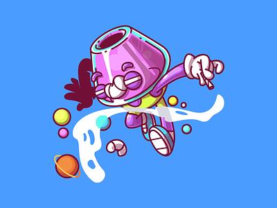 Chiillll design sao paulo brazil color logo ui fun character illustration thunder rockets