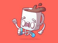 Run coffee, run!