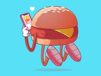 Cheeseburger <3 Fries