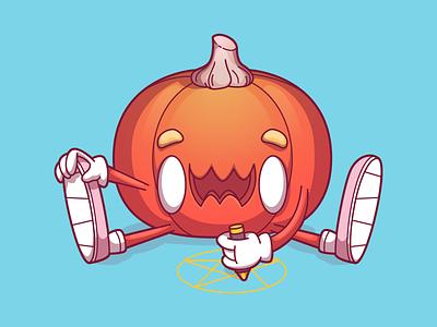 Halloween Child halloween food brasil character fun design sao paulo brazil campinas thunder rockets illustration