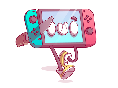 Switch Butter ilustração vector dribbble cool food color character fun design sao paulo brazil campinas thunder rockets illustration switch nintendo