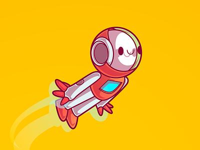 Bot Inovation Scene Mindschool dribbble color character design sao paulo brazil thunder rockets illustration vector