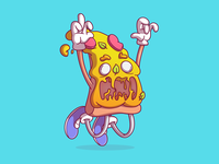 Vectober Day 24 - Pizza