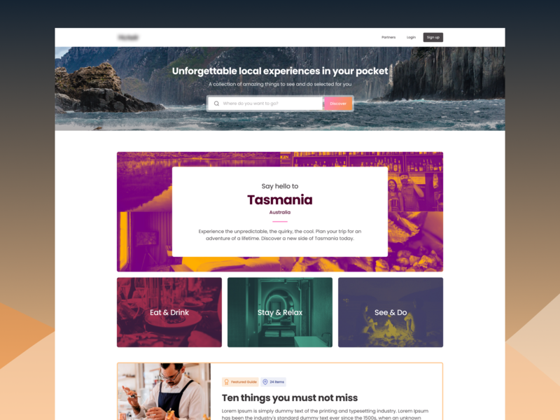 Explore Tasmania travel tourism trips expert guide local guide guide tasmania landing page