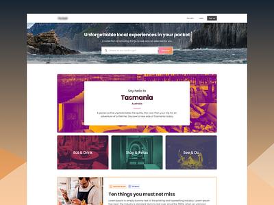 Explore Tasmania travel tourism trips expert guide local guide guide tasmania landing page