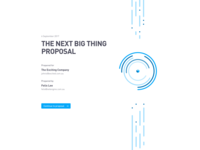 Proposal Cover #1