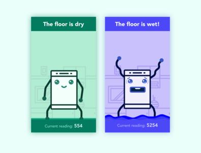 Diswasher-leak alarm system