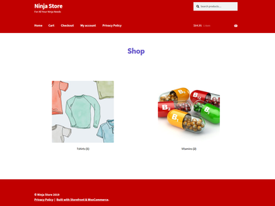 E-commerce Site (Ready to be Sold!)