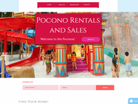 Pocono Rentals site for a Valued Customer