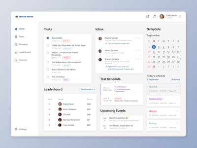 School App Dashboard - Daily UI 021