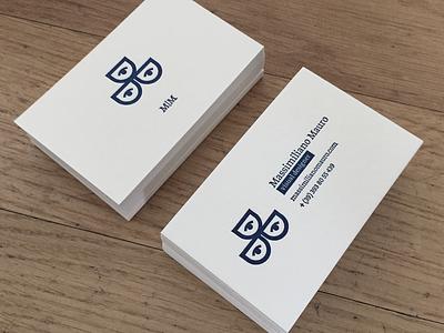 My business card deserves letterpress mauro massimiliano data bc letterpress