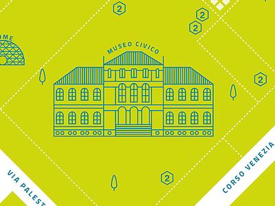 Wired Next Fest Landmark pictograms set icon visualization dta map landmark wired poi outline