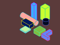 Isometric elements / In progress